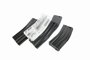 G&G 79R Standard Magazine for GR16 (Black) 5pcs Combo Pack