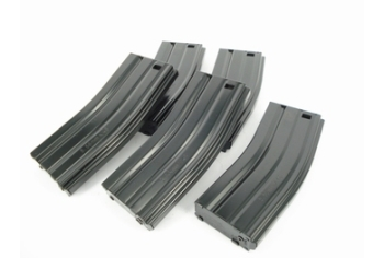 G&G 79R Standard Magazine for GR16 (Black) 5pcs/pack