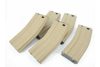 G&G 79R Standard Magazine for GR16 (Desert Tan) 5pcs/pack