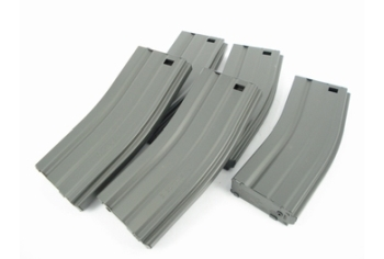 G&G 79R Standard Magazine for GR16 (Grey) 5pcs Combo Pack