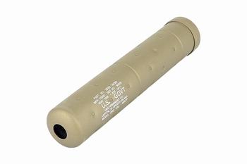 G&G SOCOM Mock Suppressor-L Desert Tan (14mm CCW)