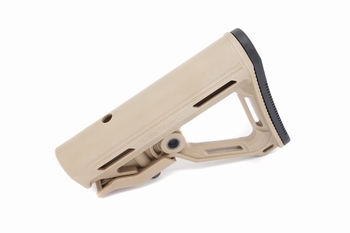 ICS MTR Carbine stock-Tan (without stock tube)