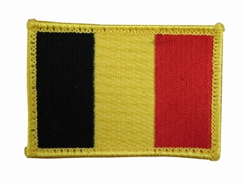 Belgium Badge with velcro