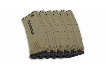 ICS M4 T Low-cap Mag. DE -6pcs/box (45rd)