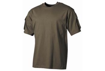 MFH US Combat T-Shirt Olive