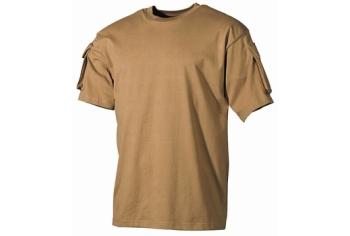 MFH US Combat T-Shirt Coyote
