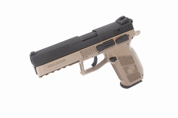ASG CZ P-09 Two-Tone, Cased, Metal Slide