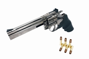 Dan Wesson 715 6 inch Revolver Steel Gray (High Power) CO2