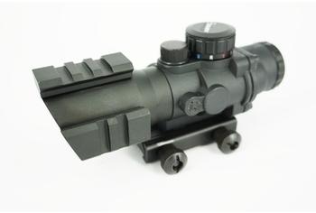 U-13 4x32 Triple Rail Tactical Scope, RGB Dot
