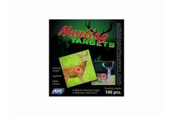 ASG Shooting targets, Hunting targets, 14cm, 100 pcs.