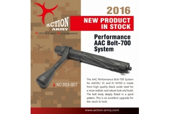 Action Army M700 AAC Performance Bolt