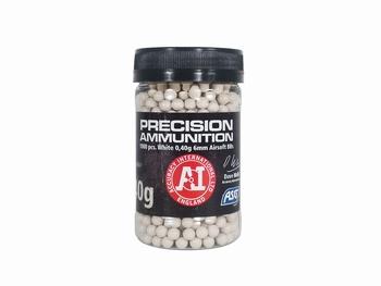 ASG Precision Ammunition 0.40g Airsoft Heavy BB White