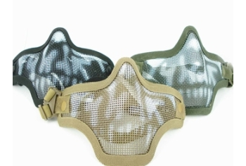 DRAGONPRO Wire Mesh Mask Skull