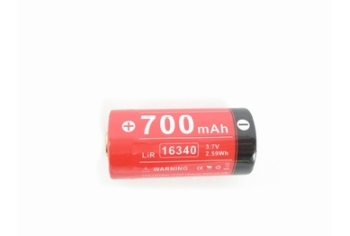 Klarus Rechargable 16340/CR123A 700mAh