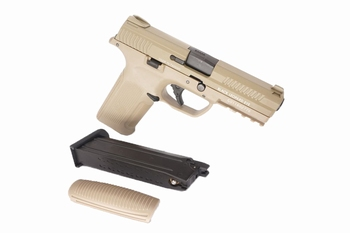 ICS Alpha Gas Blowback Pistol Tan