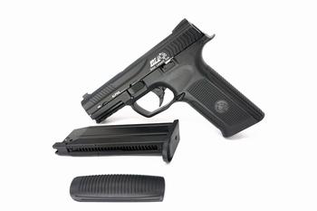 ICS Alpha Gas Blowback Pistol Black
