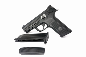 ICS Alpha Gas Blowback Pistol Black (MEGA DEAL)