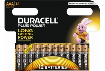 Duracell Plus Power AAA (12-pack)