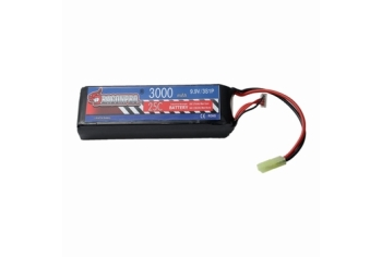 DRAGONPRO 9.9V 3000mAh 25C LiFePO4 (1) 132x43x22mm