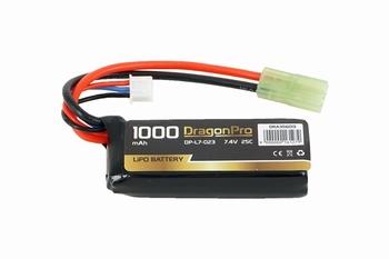 DRAGONPRO 7.4V 900mAh 25C LiPO (1) 65x24x13mm