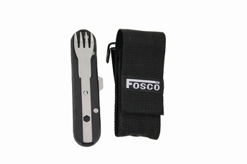 Fosco cutlery & corkscrew Black