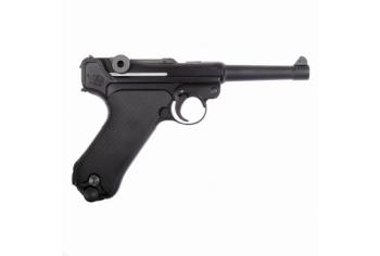 WE-Tech P08 - Luger (S) 4 inch Black