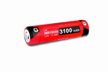 Klarus Rechargable IMR18650 3100mAh High Drain