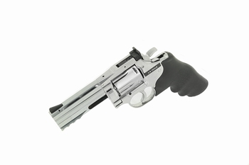 Dan Wesson 715 4 inch Revolver Silver (High Power) CO2