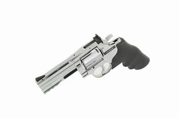 Dan Wesson 715 4 inch Revolver Silver (High Power) CO2
