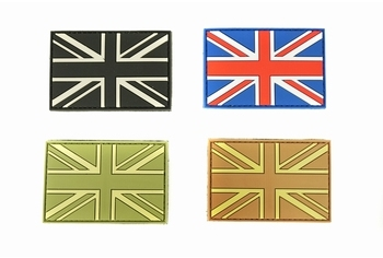 U-13 PVC Patch UK Flag