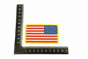 U-13 PVC Patch US Flag Reverse