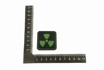 U-13 PVC Patch Atomic GITD