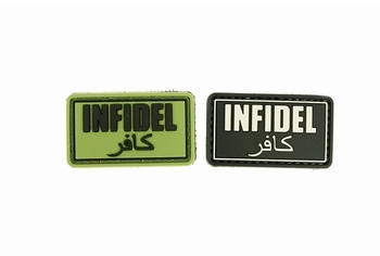 U-13 PVC Patch Infidel
