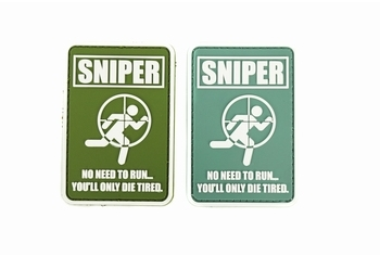 U-13 PVC Patch Sniper No Need To Run