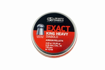 JSB Exact King Heavy Diabolo 6.35mm/.25