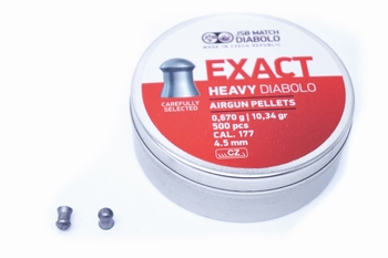 JSB Exact Heavy Diabolo 4.5mm/.177(4.52)