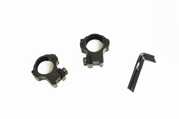 Hawke Match Ring Mounts 9-11mm Medium (1inch/25mm)