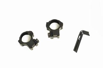 Hawke Match Ring Mounts 9-11mm Medium (1inch/25mm)
