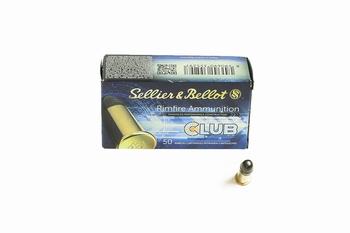 Sellier & Bellot .22LR RN Standard (50rds)