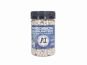 ASG Precision Ammunition 0.36g Airsoft Heavy BB White