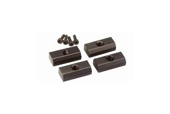 ICS MX5 Tactical rail clips X 4 Black