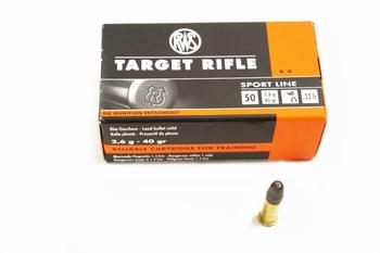 RWS Munition .22 LR RN Target Rifle Sport Line (50rds)