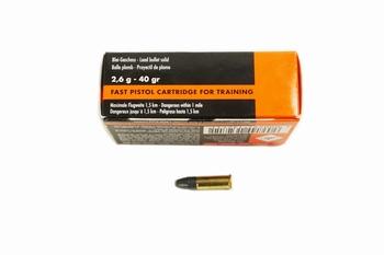 RWS Munition .22 LR RN Target Pistol Sport Line (50rds)