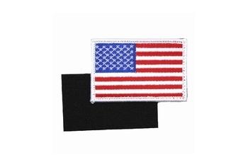 USA Vlag klitteband Badge