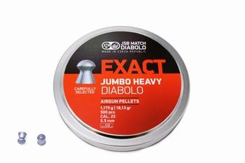 JSB Exact Jumbo heavy Diabolo 5.52mm/.22