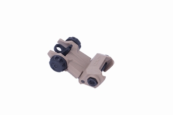 ICS CFS Rear Sight Tan