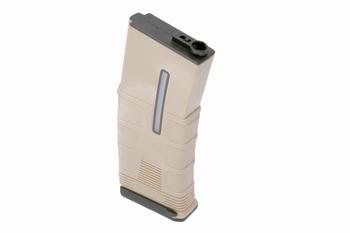 ICS T-Mag Tactical Mid Cap 120rds Tan