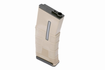 ICS T-Mag Tactical Mid Cap 120rds Tan