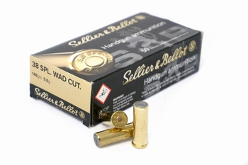 Sellier & Bellot .38 Special Wadcutter 148 Grain (50rds)
