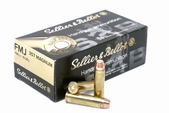 Sellier & Bellot .357 Magnum 158 grain FMJ (50rds)